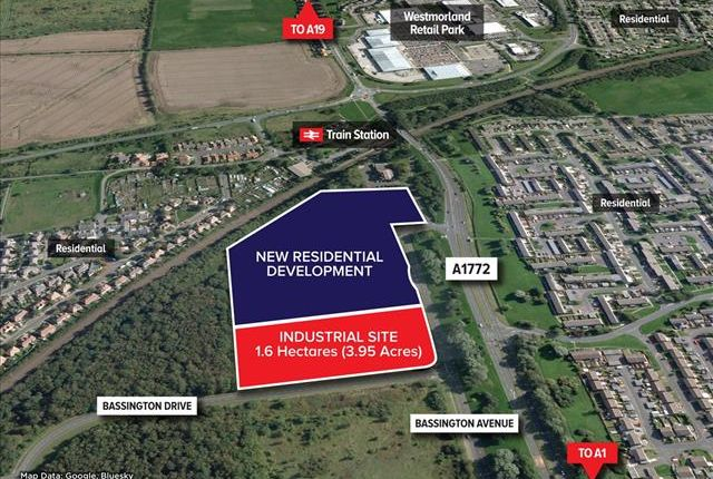 Thumbnail Land for sale in Bassington Avenue, Bassington Industrial Estate, Cramlington
