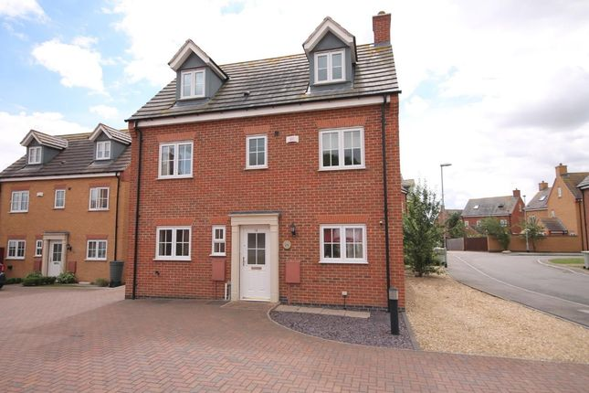 Thumbnail Detached house to rent in Parker Close, Stamford