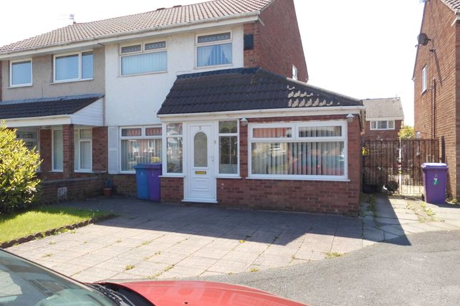 Thumbnail Semi-detached house to rent in Plane Close, Liverpool