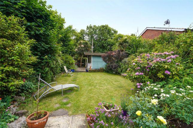 Thumbnail Maisonette for sale in Curzon Road, Weybridge, Surrey