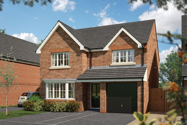 "Thumbnail Detached house for sale in ""The Durham "" at Burton Road, Streethay, Lichfield"