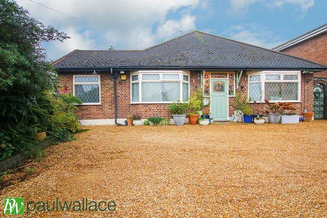 Thumbnail Detached bungalow for sale in Newgatestreet Road, Goffs Oak, Waltham Cross