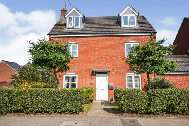 Thumbnail Detached house for sale in St. Crispin Drive, Northampton