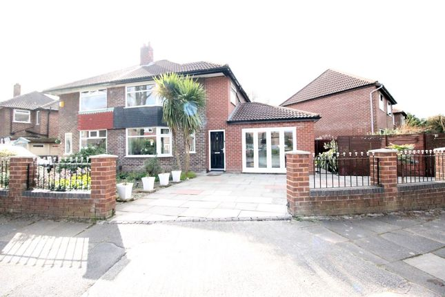 Thumbnail Semi-detached house for sale in Kenmore Road, Manchester