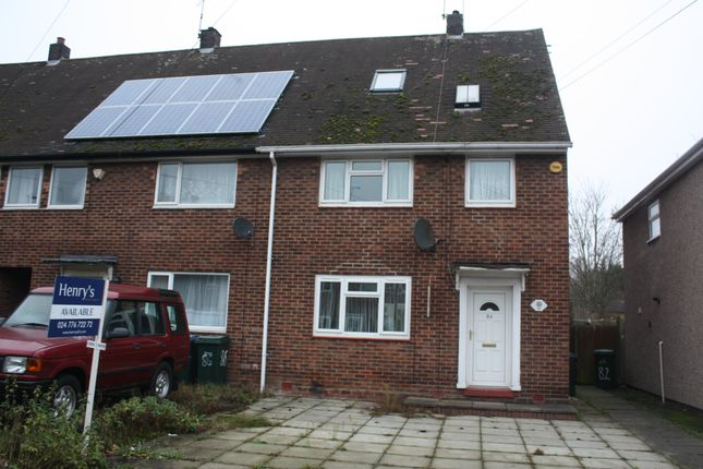 Thumbnail Property to rent in Gerard Avenue, Coventry