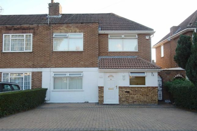 Thumbnail Semi-detached house for sale in Birchway, Hayes, Middlesex