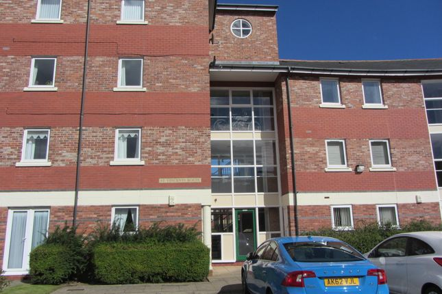 Thumbnail Flat to rent in St Vincents House, Rodney Close, Tynemouth