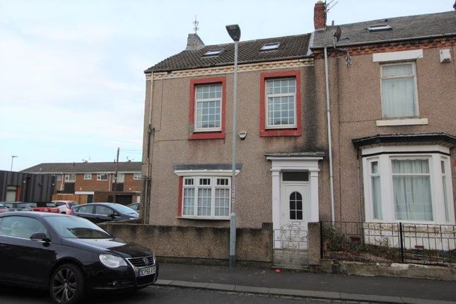 Thumbnail End terrace house to rent in Stanley Street, Blyth