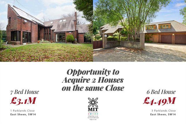 Thumbnail Detached house for sale in Parklands Close, London