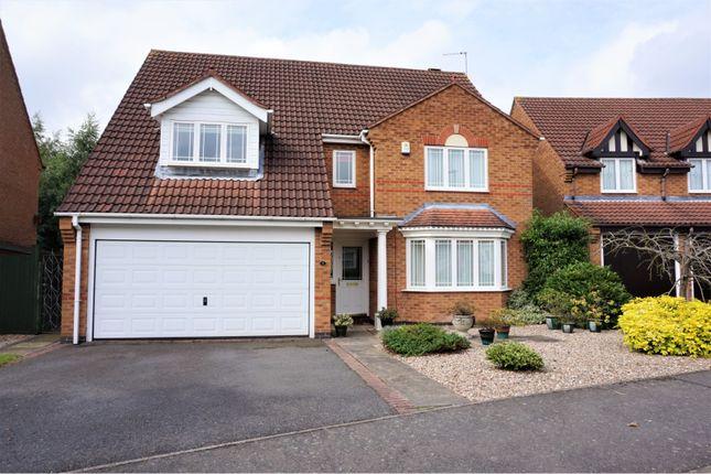 Thumbnail Detached house for sale in Sandringham Road, Coalville