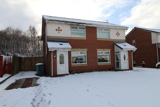 Thumbnail Semi-detached house for sale in Thistledown Grove, Coatbridge