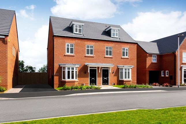"""3 bed semi-detached house for sale in """"Kennett"""" at Bearscroft Lane, London Road, Godmanchester, Huntingdon PE29"""