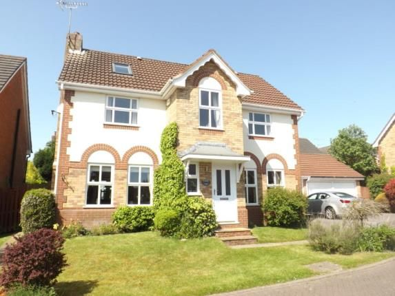 Thumbnail Detached house for sale in Stonehill Close, Appleton, Warrington, Cheshire
