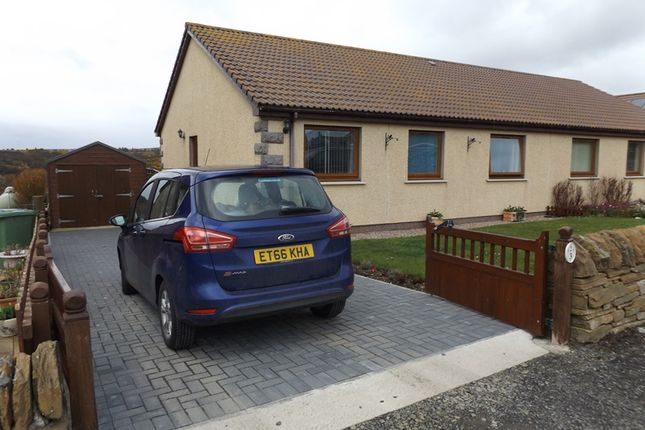 Thumbnail Semi-detached bungalow for sale in South Head View, Lybster
