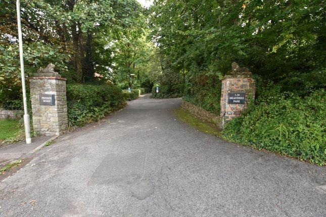 Entrance of Heavitree Park, Exeter, Devon EX1