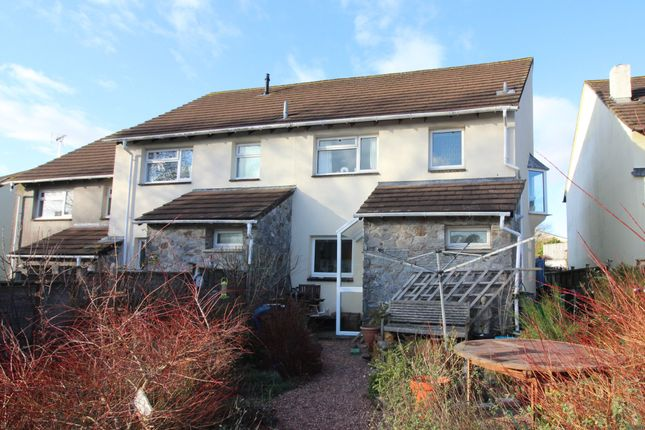 Thumbnail Semi-detached house for sale in Clobells, South Brent