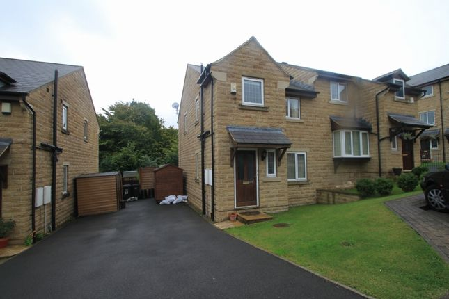 Thumbnail Semi-detached house to rent in Castlefields Drive, Rastrick, Brighouse