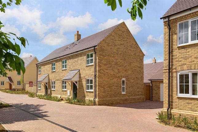 Thumbnail Semi-detached house for sale in Rowley Meadows, Langford, Beds