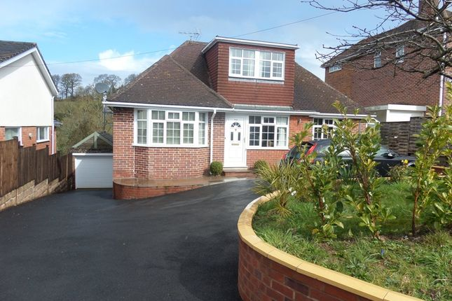 Thumbnail Detached bungalow to rent in Argyll Road, Exeter