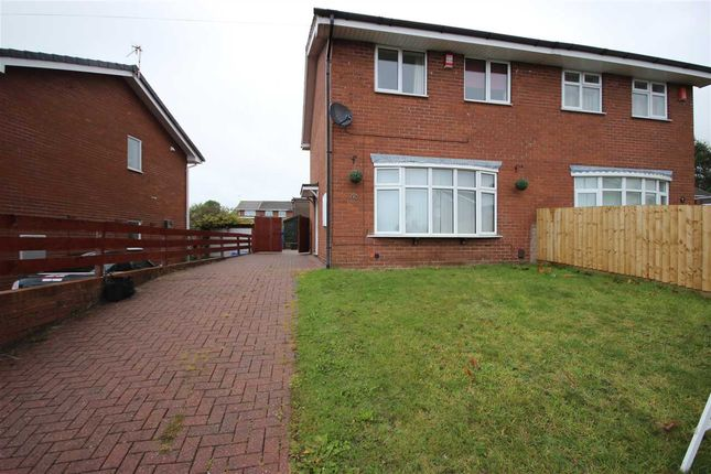 Thumbnail Semi-detached house to rent in Amison Street, Meir Hay, Stoke-On-Trent