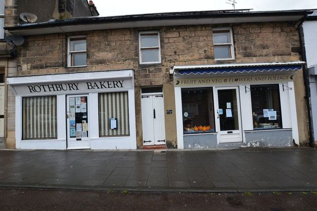 Thumbnail Flat to rent in High Street, Rothbury, Morpeth