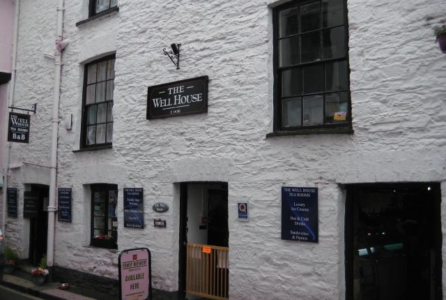 Thumbnail Hotel/guest house for sale in 31-35 Fore Street, Fowey