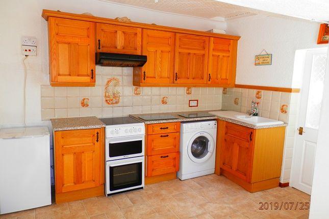 Kitchen/Diner of Victoria Street, Treherbert, Rhondda Cynon Taff. CF42