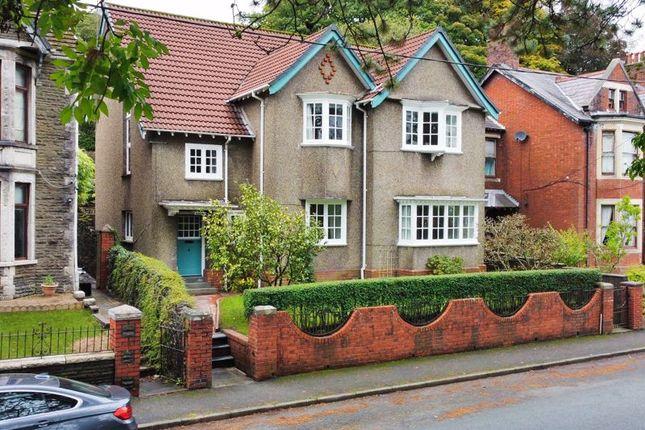 Thumbnail Detached house for sale in 4 Salisbury Road, Maesteg, Bridgend
