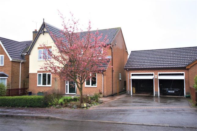 Thumbnail Detached house for sale in River Sence Way, Hugglescote, Coalville