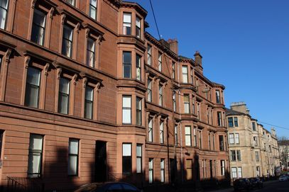 Thumbnail Maisonette to rent in Kersland Street, Glasgow