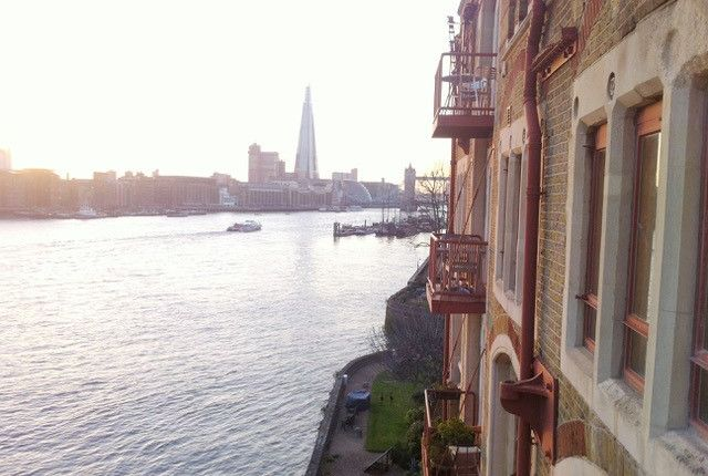Thumbnail Flat to rent in Olivers Wharf, 64 Wapping High Street, London