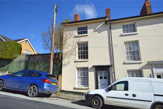 Thumbnail End terrace house for sale in Crescent Street, Newtown, Powys