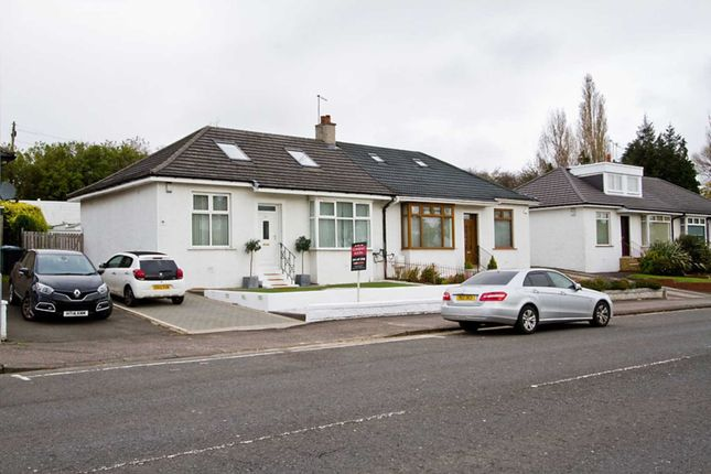 Thumbnail Semi-detached house for sale in Kings Park Avenue, Croftfoot, Glasgow