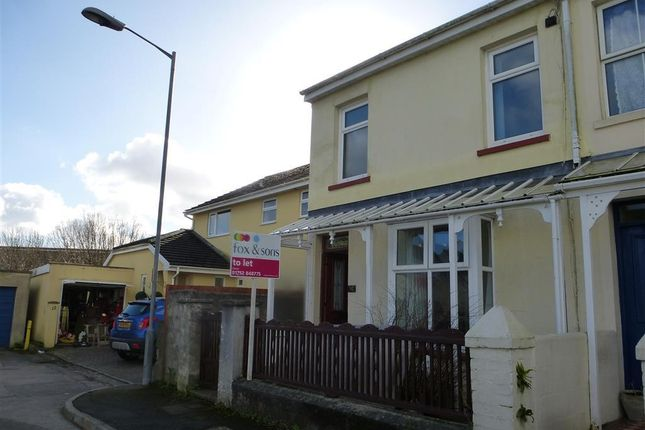 Thumbnail Property to rent in Cowdray Terrace, Saltash
