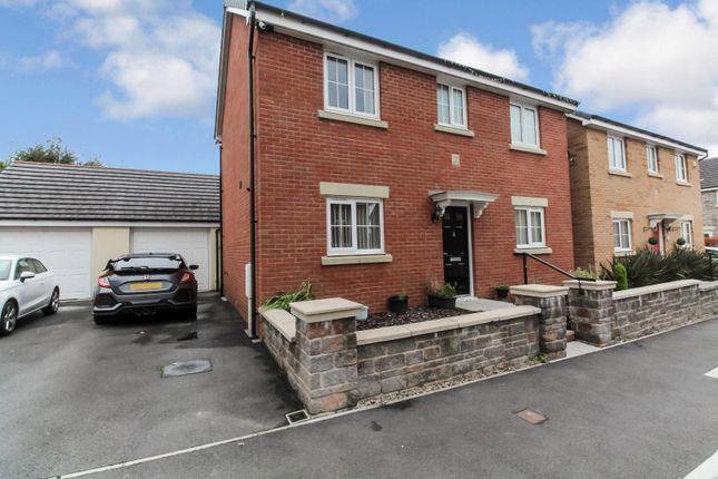 Thumbnail Detached house for sale in Maes De Braose, Gorseinon, Swansea
