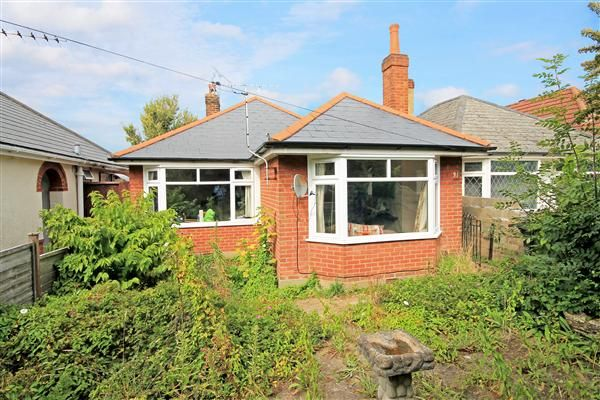 Thumbnail Bungalow for sale in Wayne Road, Parkstone, Poole