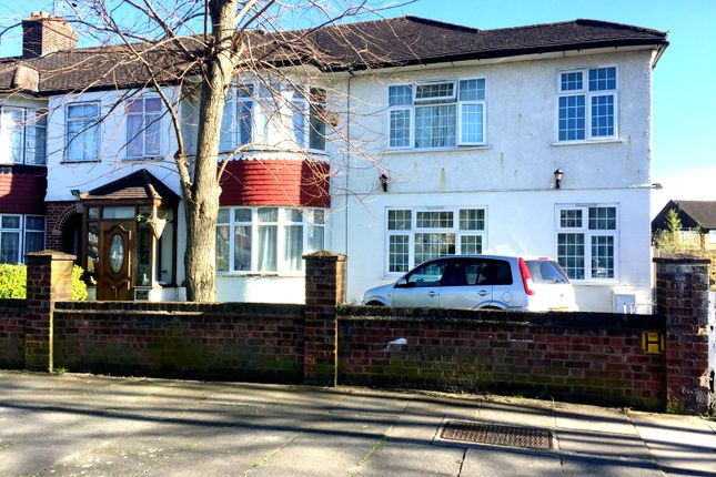Thumbnail Semi-detached house for sale in Halsted Road, Southgate