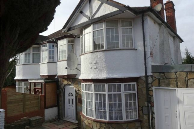 Thumbnail Semi-detached house to rent in Fairfields Crescent, London