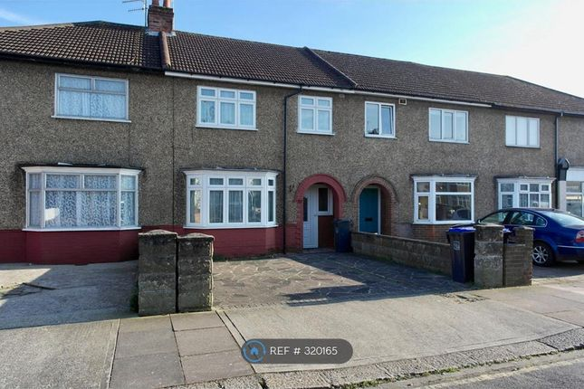 Thumbnail Terraced house to rent in Westcourt Road, Worthing