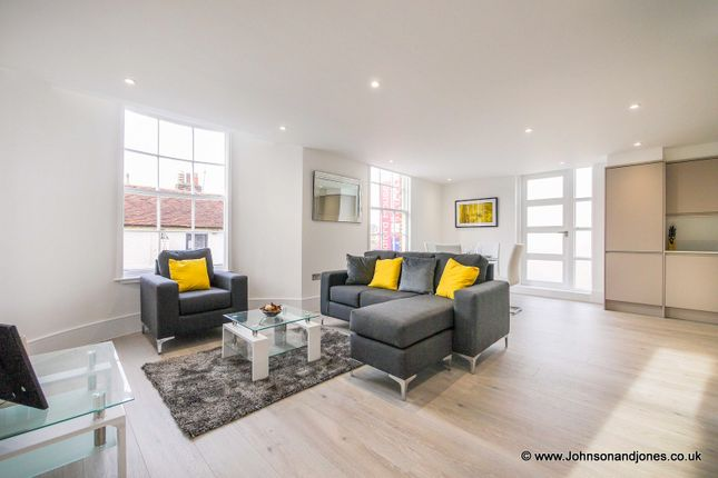 Thumbnail Flat for sale in Guildford House, Chertsey