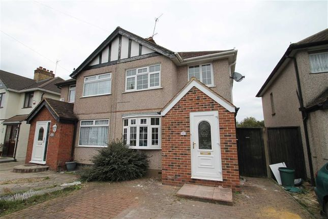 Thumbnail Semi-detached house to rent in Gresham Road, Hillingdon, Middlesex