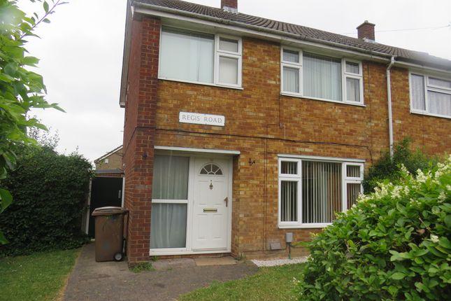Thumbnail Semi-detached house for sale in Regis Road, Luton