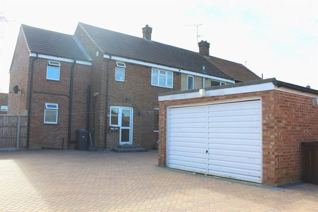 Thumbnail End terrace house for sale in Mullway, Letchworth Garden City