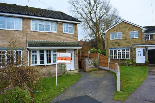 Thumbnail 3 bed semi-detached house to rent in Amanda Drive, Hatfield, Doncaster