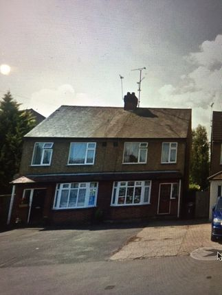 Thumbnail Semi-detached house to rent in Poynters Road, Luton