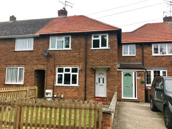 Thumbnail Terraced house for sale in Hall Mead, Letchworth Garden City, Hertfordshire, England