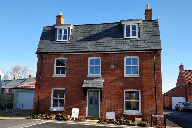 Thumbnail Detached house for sale in Lilly Lane, Greys Field, Chickerell