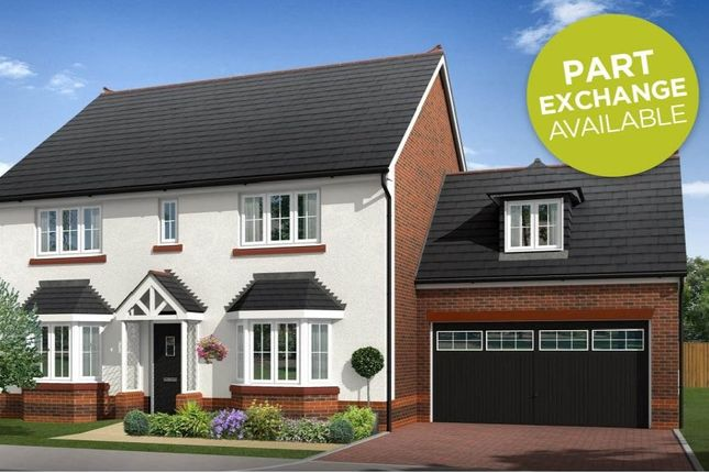 "Thumbnail Detached house for sale in ""Mellor"" at Boundary Park, Parkgate, Neston"