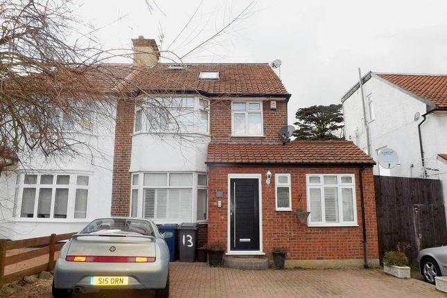 Thumbnail Semi-detached house for sale in Oakwood Drive, Edgware