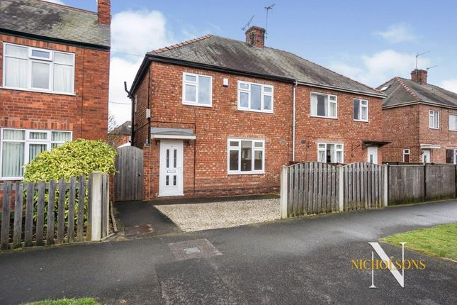 Thumbnail Semi-detached house for sale in Leafield, Retford, Nottinghamshire